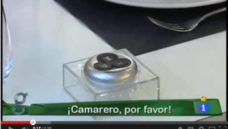 avisador de camareros pulsayvoy video