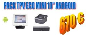 PACK TPV ECO Mini 10 Android