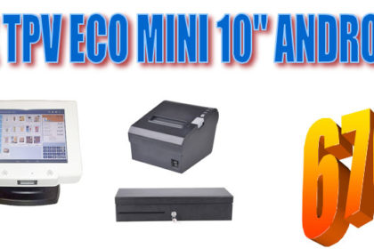PACK TPV ECO Mini 10 Android