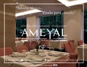 restaurante de alta cocina mexicana, Ameyal