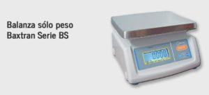 Balanza sólo peso Baxtran Serie BS