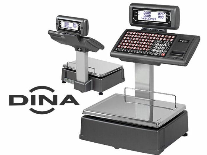 Balanza con impresora DINA Serie M