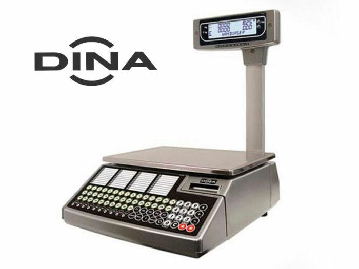 Balanza con impresora DINA Serie W