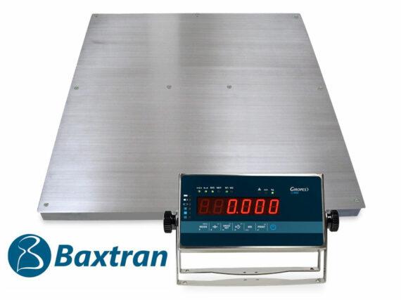 Báscula Baxtran BGI plataforma de 4 células de acero inoxidable