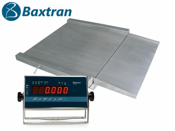 Báscula Baxtran RGI plataforma en acero inoxidable