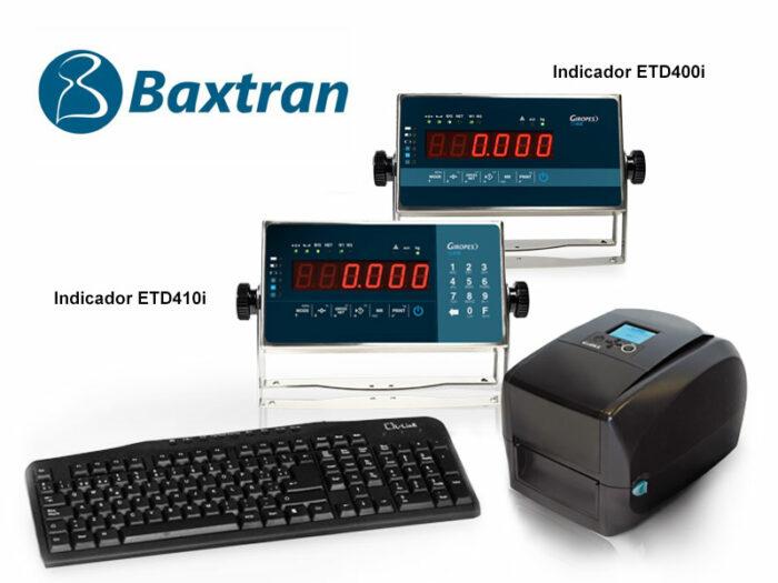 Conjunto etiquetadora Baxtran ETD400/410