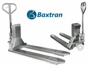 Transpaleta pesadora Baxtran ARC en acero inoxidable