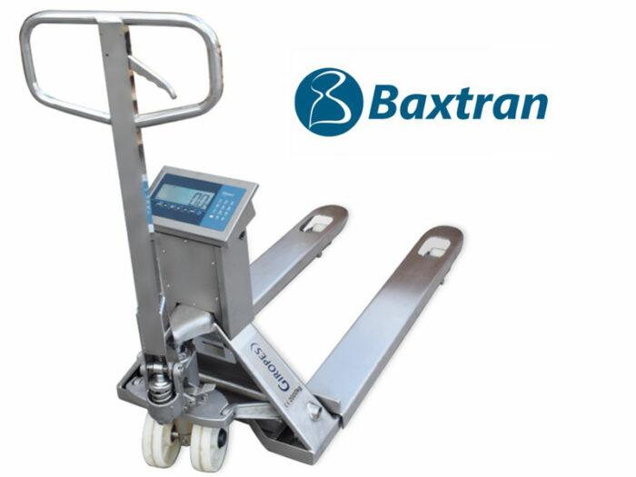 Transpaleta pesadora Baxtran TP410i WIDE