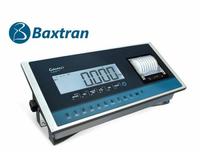 Indicador LCD con impresora Baxtran GI410i PRINT
