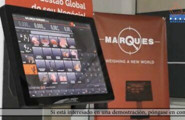Video demostrativo uso de balanza etiquetadora táctil Marques BM5 ARM